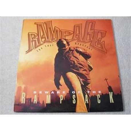 """Rampage - Beware Of The Rampsack 12"""" PROMO Vinyl Record For Sale"""