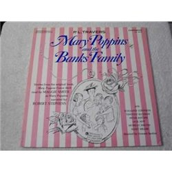 Mary Poppins - And The Banks Family - Mary Poppins Comes Back LP Vinyl Record For Sale