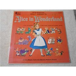 Walt Disney - Alice In Wonderland LP Vinyl Record For Sale