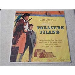Walt Disney - Treasure Island LP Vinyl Record For Sale