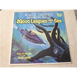 Walt Disney - 20,000 Leagues Under The Sea LP Vinyl Record For Sale