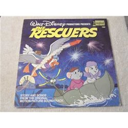 Walt Disney - The Rescuers LP Vinyl Record For Sale