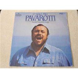Pavarotti - O Sole Mio / Favourite Neapolitan Songs LP Vinyl Record For Sale