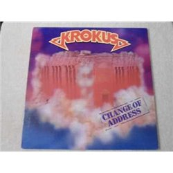 Krokus - Change Of Address LP Vinyl Record For Sale