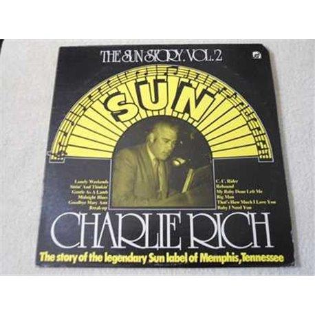 Charlie Rich - The Sun Story Vol. 2 LP Vinyl Record For Sale
