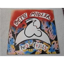 Bette Midler - No Frills LP Vinyl Record For Sale