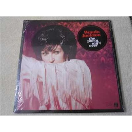 Wanda Jackson - The Party Ain't Over LP Vinyl Record For Sale