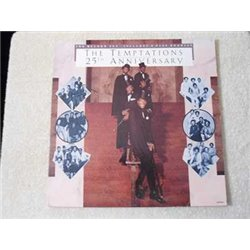 The Temptations - 25th Anniversary 2xLP Vinyl Record For Sale