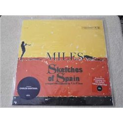 Miles Davis - Sketches Of Spain LP Vinyl Record For Sale - 180 Gram Yellow And Red