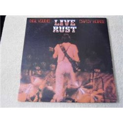 Neil Young & Crazy Horse - Live Rust 2xLP Vinyl Record For Sale