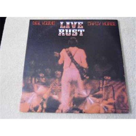 Neil Young & Crazy Horse - Live Rust 2xLP Vinyl Record For Sale