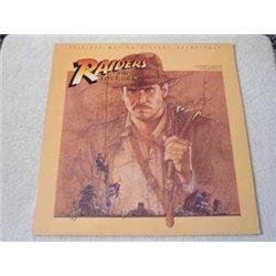 Raiders Of The Lost Ark - Original Soundtrack LP Vinyl Record For Sale