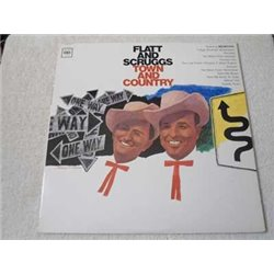Flatt And Scruggs - Town And Country LP Vinyl Record For Sale