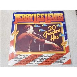 Jerry Lee Lewis - 20 Greatest Hits LP Vinyl Record For Sale