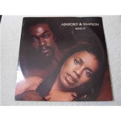 Ashford & Simpson - Send It LP Vinyl Record For Sale