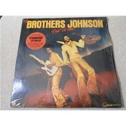 The Brothers Johnson - Right On Time LP Vinyl Record For Sale