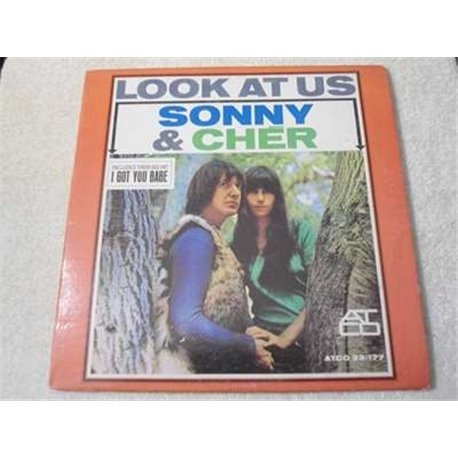 Sonny & Cher - Look At Us LP Vinyl Record For Sale