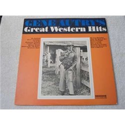 Gene Autry's Great Western Hits LP Vinyl Record For Sale