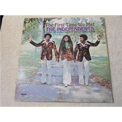 The Independents - The First Time We Met LP Vinyl Record For Sale