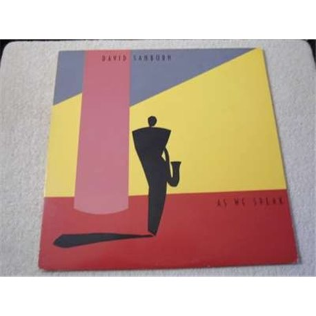 David Sanborn - As We Speak LP Vinyl Record For Sale