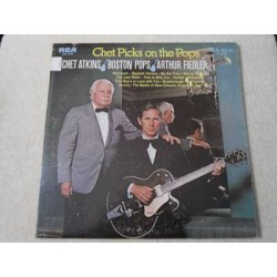 Chet Atkins - Chet Picks On The Pops LP Vinyl Record For Sale