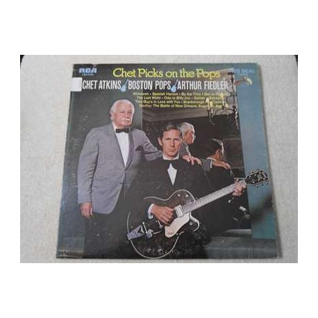 Chet Atkins - Chet Picks On The Pops LP Vinyl Record For Sale