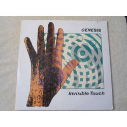 Genesis - Invisible Touch LP Vinyl Record For Sale