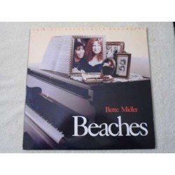 Bette Midler - Beaches Original Soundtrack Recording LP Vinyl Record For Sale