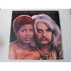 Leon & Mary Russell - Make Love To The Music LP Vinyl Record For Sale