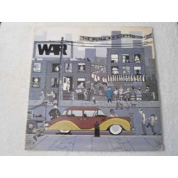 War - The World Is A Ghetto LP Vinyl Record For Sale