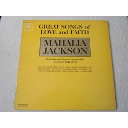 Mahalia Jackson - Great Songs Of Love And Faith LP Vinyl Record For Sale