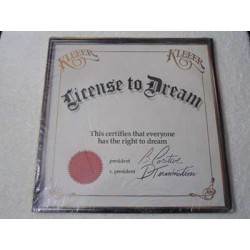 Kleeer - License To Dream LP Vinyl Record For Sale