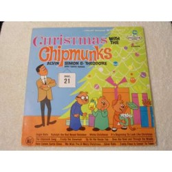 The Chipmunks - Christmas with The Chipmunks LP For Sale