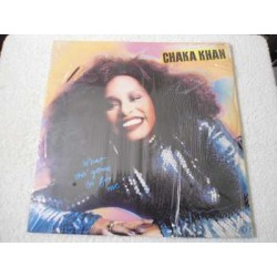 Chaka Khan - What Cha' Gonna Do For Me LP Vinyl Record For Sale