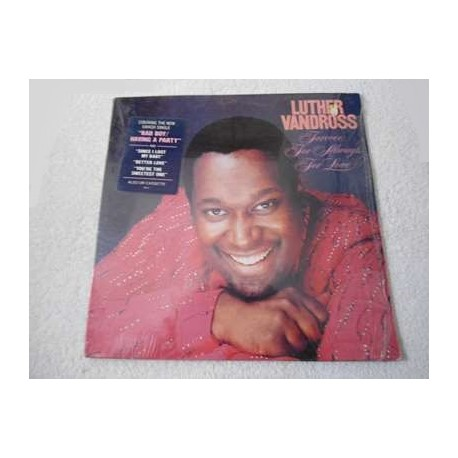 Luther Vandross - Forever, For Always, For Love LP Vinyl Record For Sale
