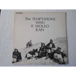 The Temptations - Wish It Would Rain LP Vinyl Record For Sale