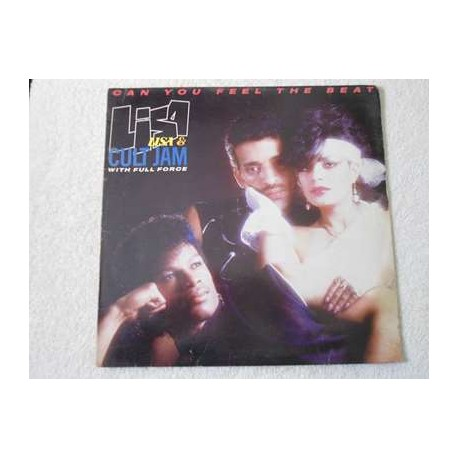 """Lisa Lisa & Cult Jam - Can You Feel The Beat 12"""" Single Vinyl Record For Sale"""
