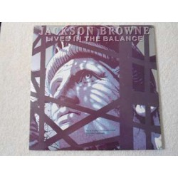Jackson Browne - Lives In The Balance LP Vinyl Record For Sale