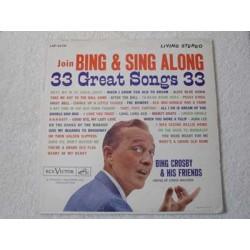Bing Crosby - Join Bing And Sing Along LP Vinyl Record For Sale