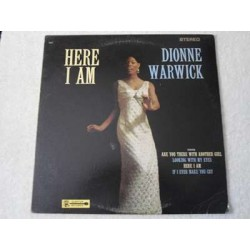 Dionne Warwick - Here I Am LP Vinyl Record For Sale