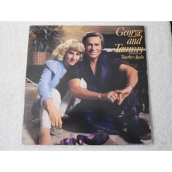 George Jones And Tammy Wynette - Together Again PROMO LP Vinyl Record For Sale