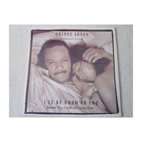 Quincy Jones - I'll Be Good To You LP Vinyl Record For Sale