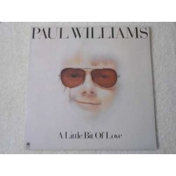 Paul Williams - A Little Bit Of Love LP Vinyl Record For Sale
