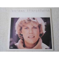 Anne Murray - Let's Keep It That Way LP Vinyl Record For Sale