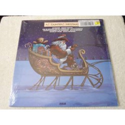 A Country Christmas - Christmas Country Music Compilation LP Vinyl Record For Sale