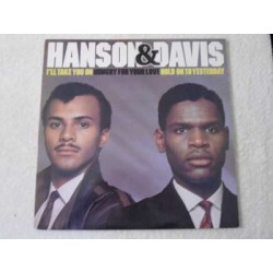 """Hanson & Davis - I'll Take You On / Hungry For Your Love / Hold On To Yesterday 12"""" Single Vinyl Record For Sale"""
