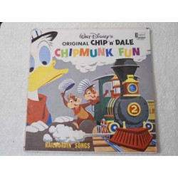Walt Disney's Chip 'n' Dale - Chipmunk Fun LP Vinyl Record For Sale