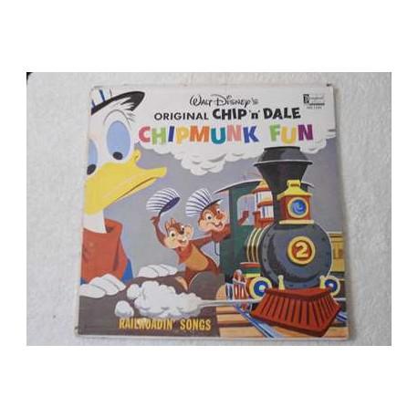 Walt Disney's Chip 'n' Dale - Chipmunk Fun LP Vinyl Record For Sale