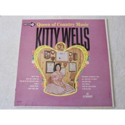 Kitty Wells - Queen Of Country Music LP Vinyl Record For Sale