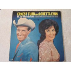 Ernest Tubb & Loretta Lynn - Mr. And Mrs. Used To Be LP Vinyl Record For Sale